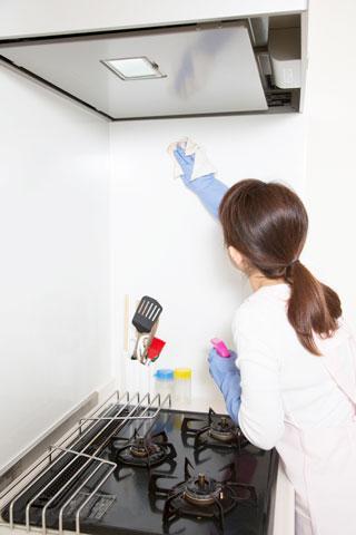 キッチンの除菌、消臭